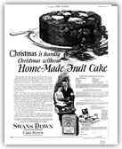 Christmas Fruit Cake 1925