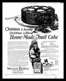 Christmas Fruit Cake 1925