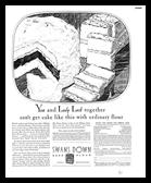 Ribbon Cake 1931