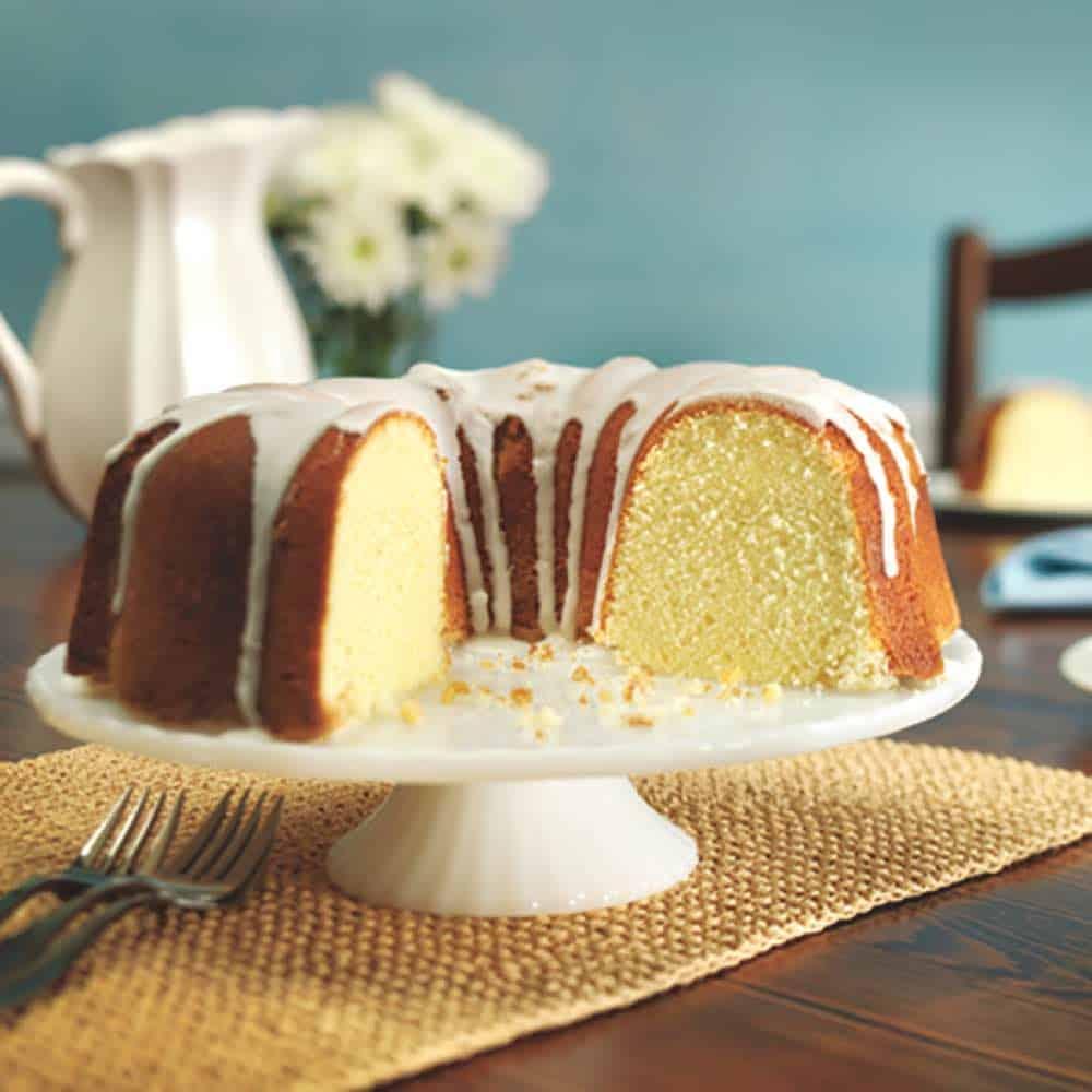 Whipping Cream Pound Cake 10 Inch Tube Pan Or Bundt Pan