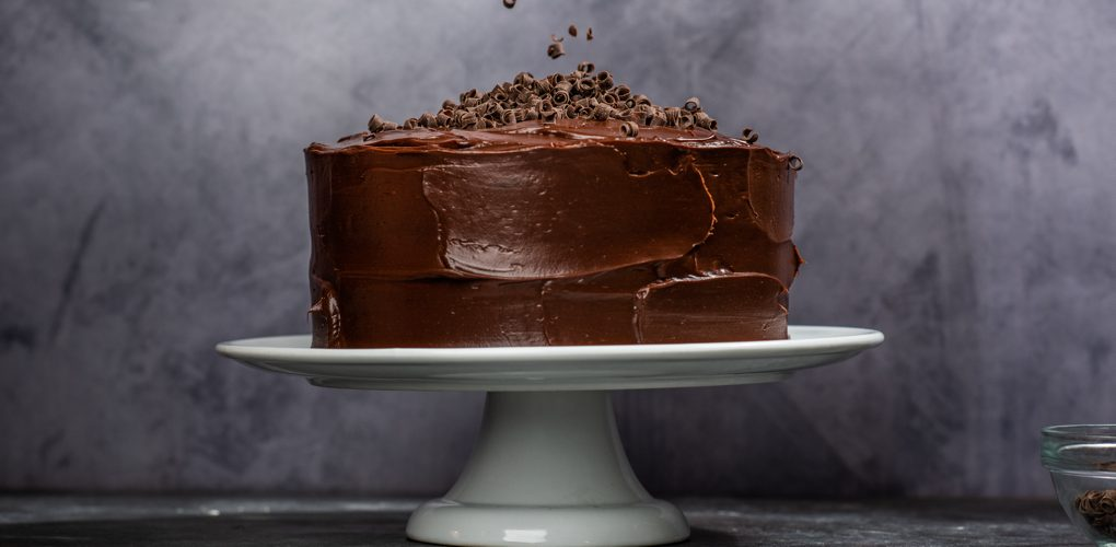 Chocolate Fudge Cake with Chocolate Buttercream Frosting