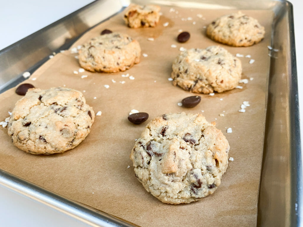 Ultimate Chocolate Chip Oatmeal Cookies