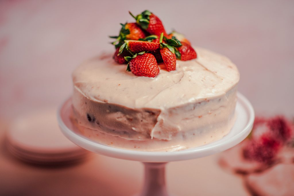 Strawberry Preserve Cake