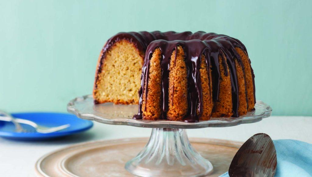 Golden Anniversary Bundt Cake