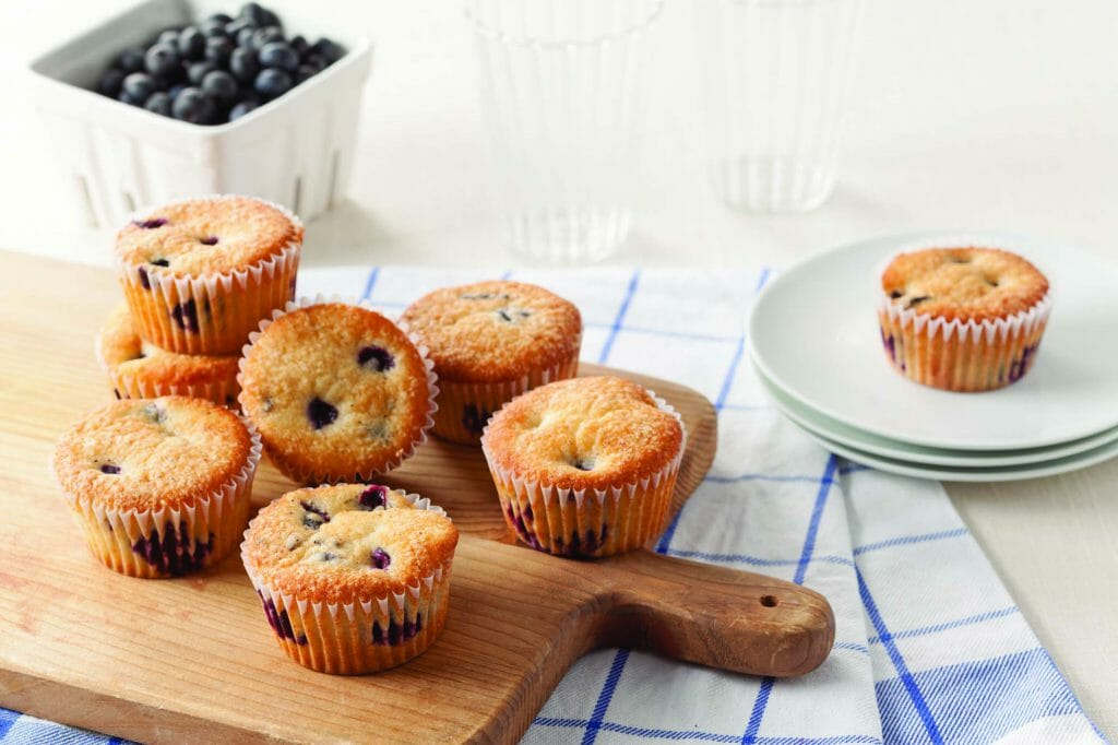 Very Blueberry Morning Muffins