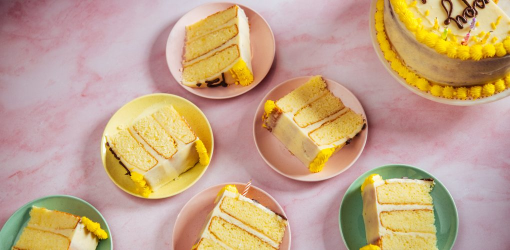 """1-2-3-4 Layer Cake (""""Back of the Box Cake"""")"""