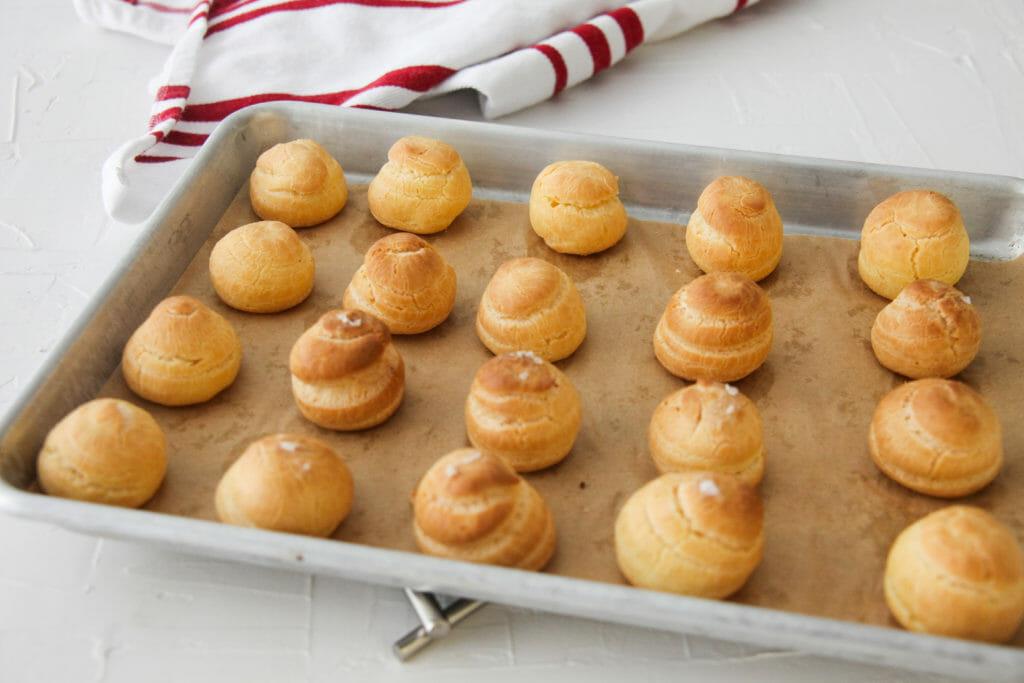 Pâte à Choux Dough (Cream Puff Dough)