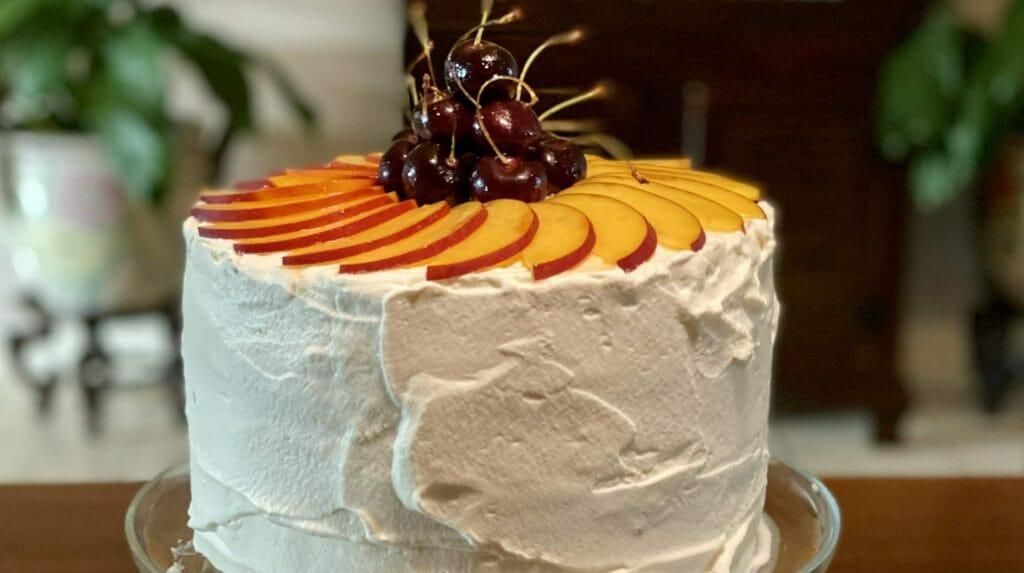4 Layer Sponge Cake