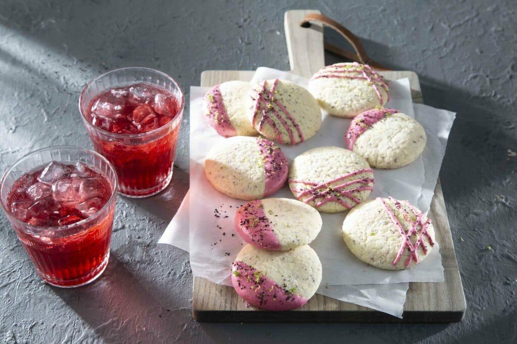 Hibiscus Tea Cakes
