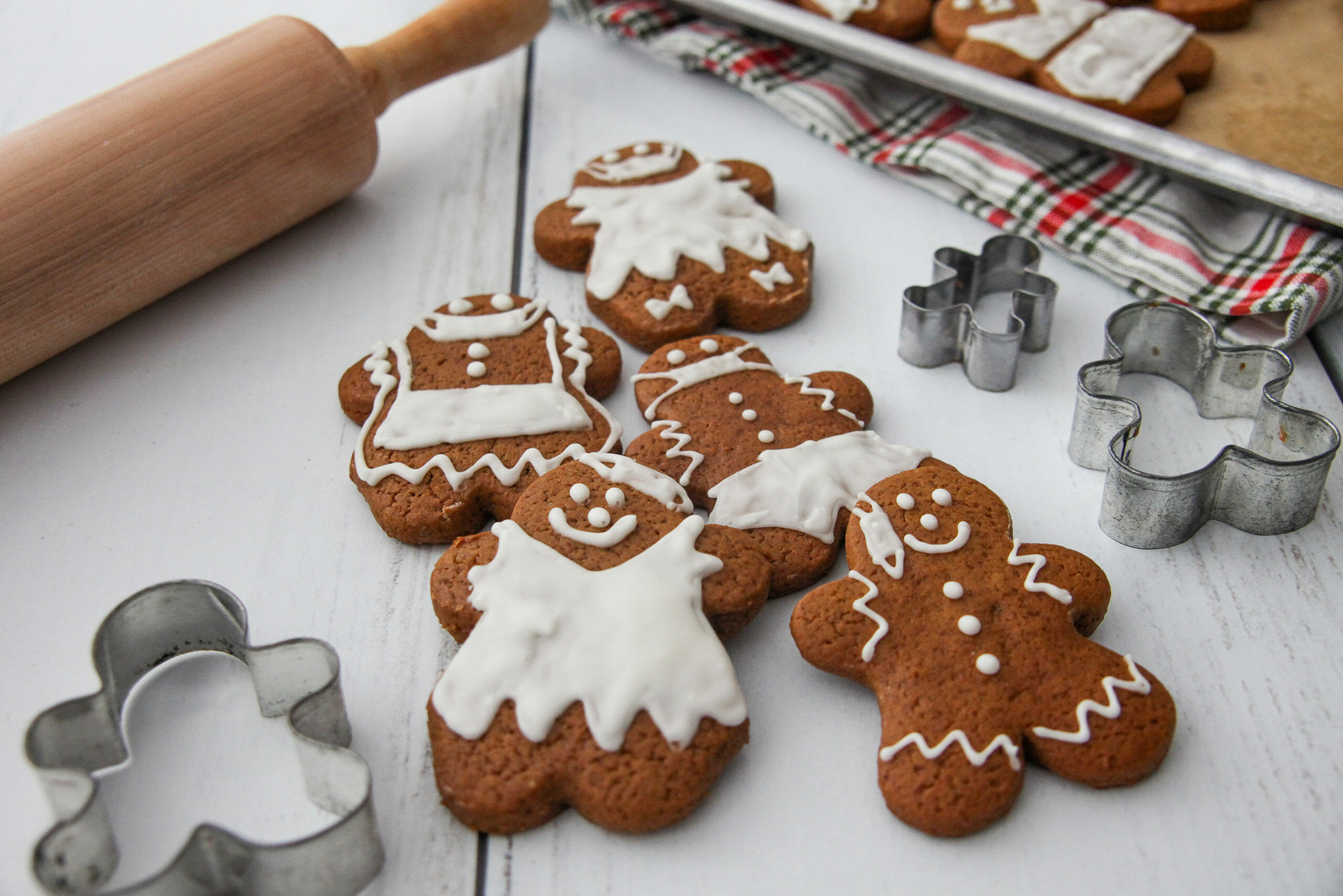 Gingerbread Cookies Made With Cake Flour