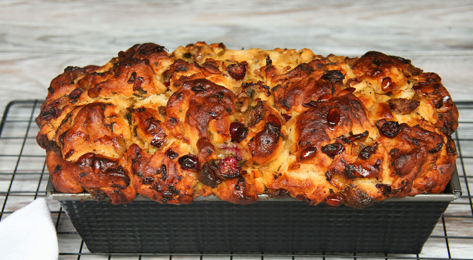 Stuffing Loaf Made With Cake Flour