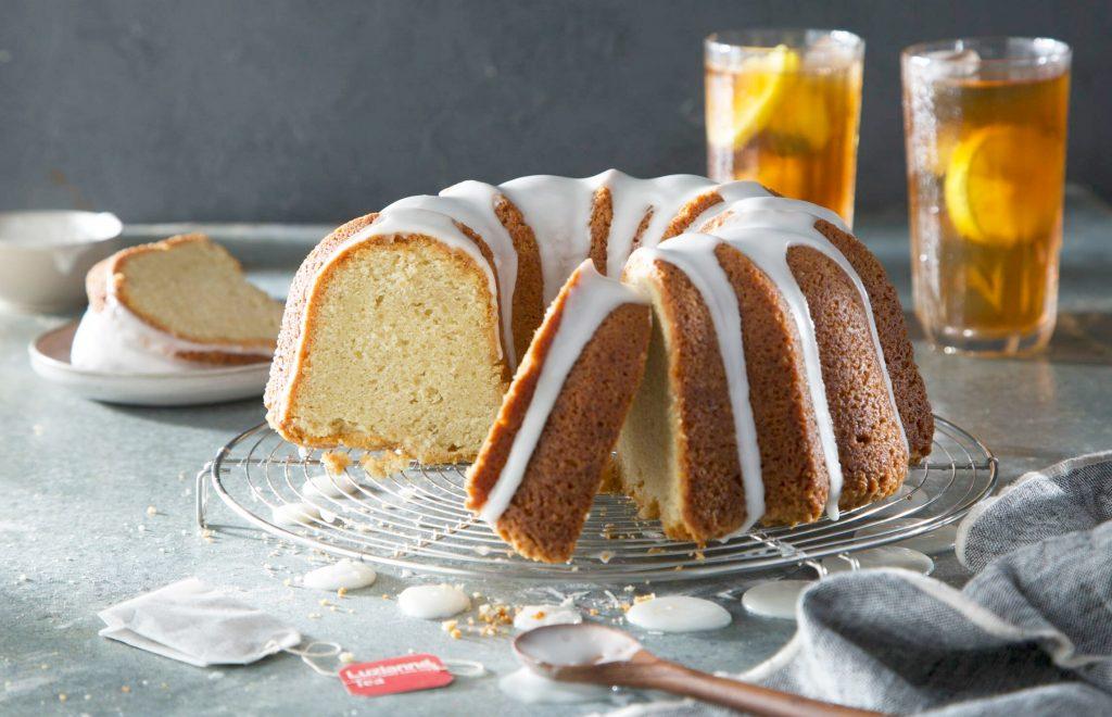 Sweet Tea Lemon Pound Cake
