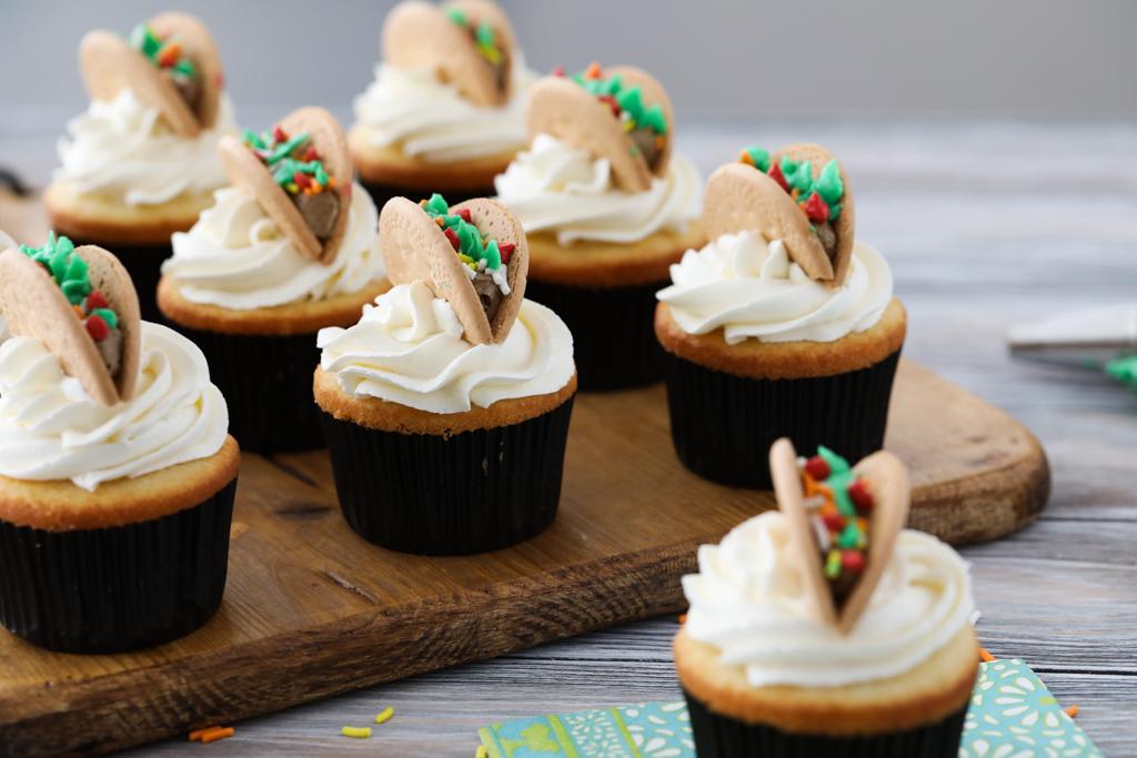 Taco Tuesday Cupcakes