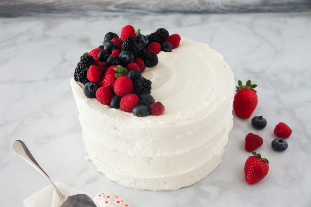 Very Berry Chantilly Cake