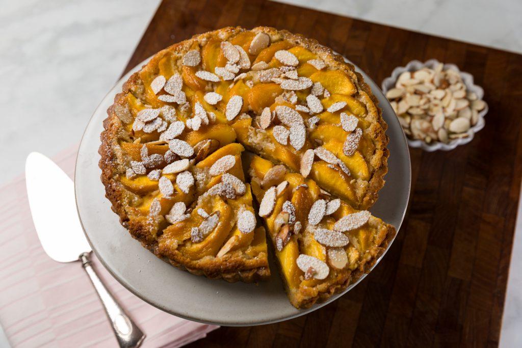 Peach and Almond Tart